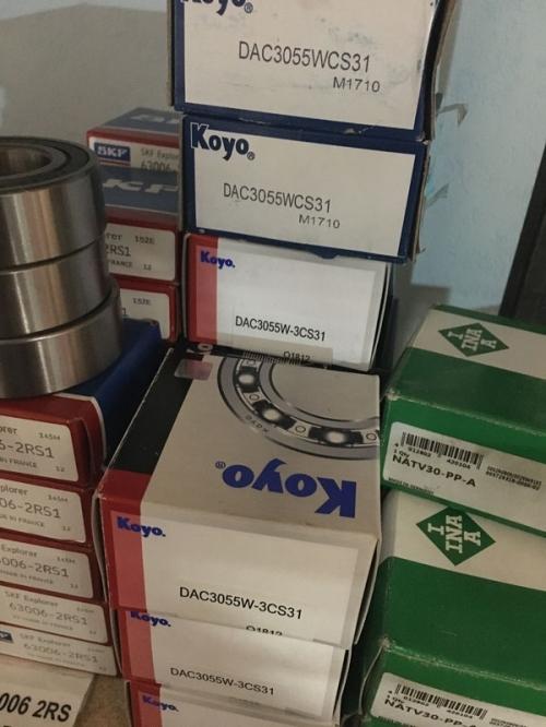 Подшипник DAC3055W KOYO размеры 30x55x32