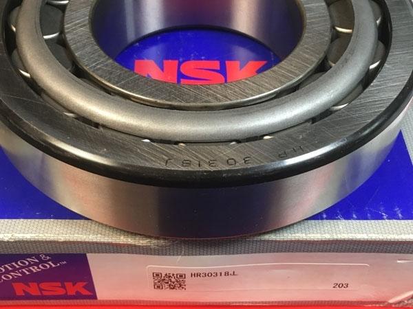 Подшипник 30318 (HR30318J) NSK аналог 7318 размеры 90*190*46,5