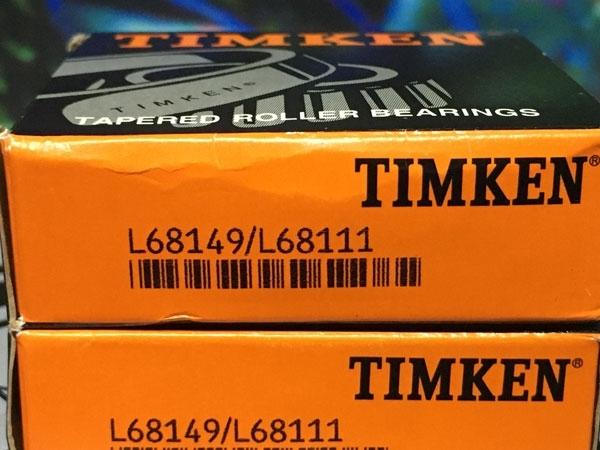 Подшипник L68149/L68111 TIMKEN размеры 34,98х59,975х16,764