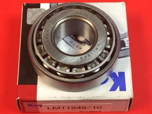 Подшипник LM11949/LM11910 Koyo размеры 19,05*45,237*16,637