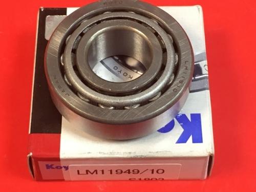Подшипник LM11949/LM11910 Koyo размеры 19,05х45,237х16,637