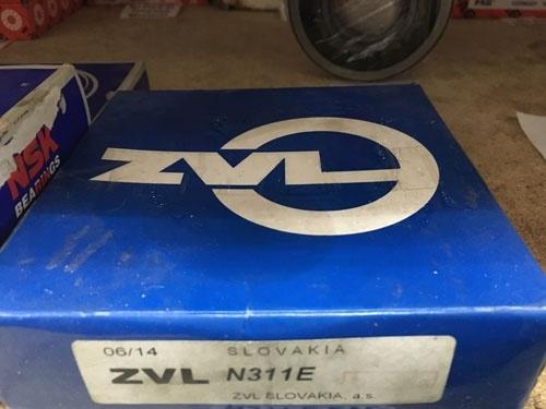 Подшипник N311 E ZVL аналог 2311 размеры 55*120*29