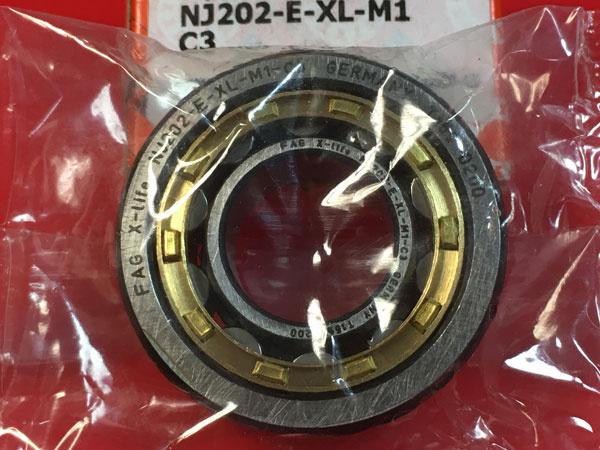 Подшипник NJ202 E-XL-M1-C3 FAG аналог 42202 Л размеры 15x35x11