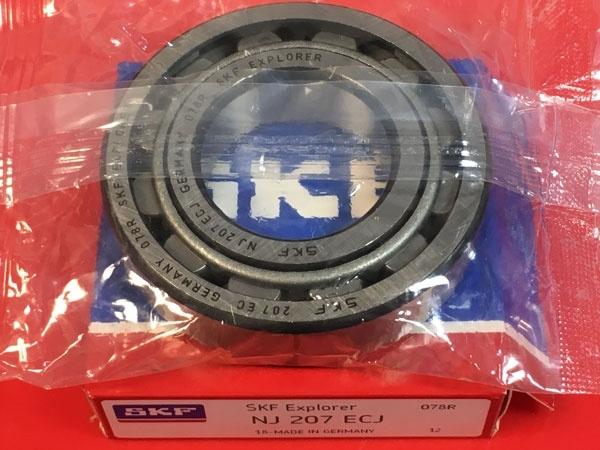Подшипник NJ207 ECJ SKF аналог 42207 размеры 35x72x17