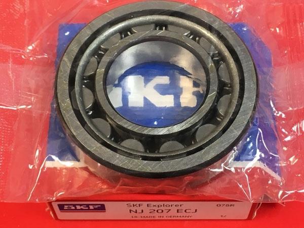 Подшипник NJ207 ECJ SKF аналог 42207 размеры 35*72*17