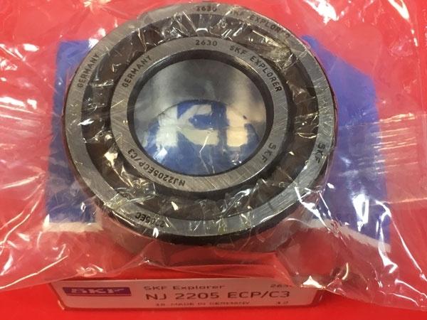 Подшипник NJ2205 ECP/C3 SKF аналог 42505 размеры 25x52x18