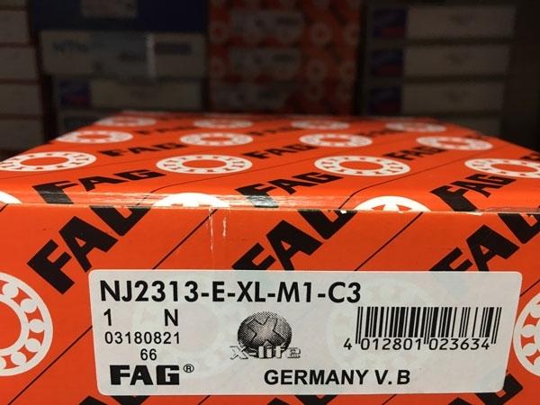 Подшипник NJ2313 E-XL-M1-C3 FAG аналог 42613 Л размеры 65х140х48