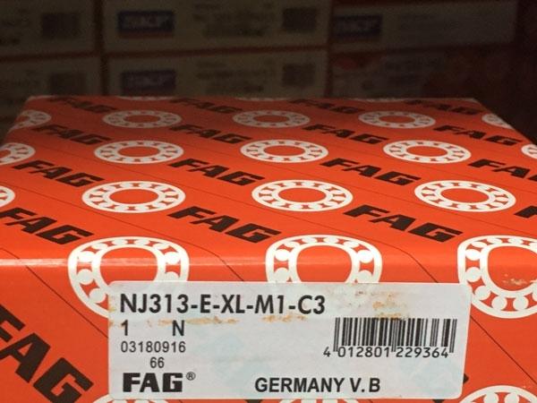 Подшипник NJ313 E-XL-M1-C3 FAG аналог 42313 Л размеры 60х140х33