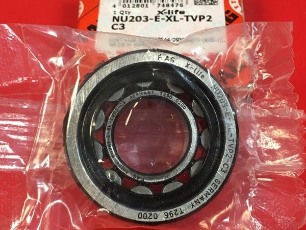 Подшипник NU203 E-XL-TVP2 C3 FAG аналог 32203 размеры 17x40x12