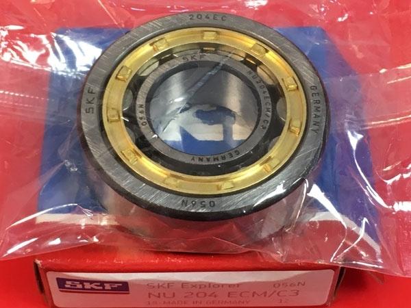 Подшипник NU204 ECM/C3 SKF аналог 32204 Л размеры 20x47x14