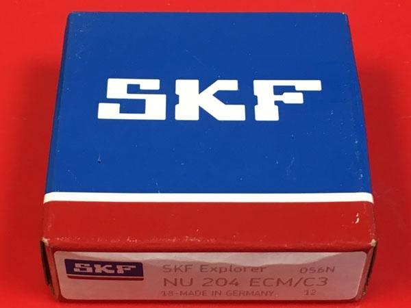 Подшипник NU204 ECM C3 SKF аналог 32204 Л размеры 20х47х14