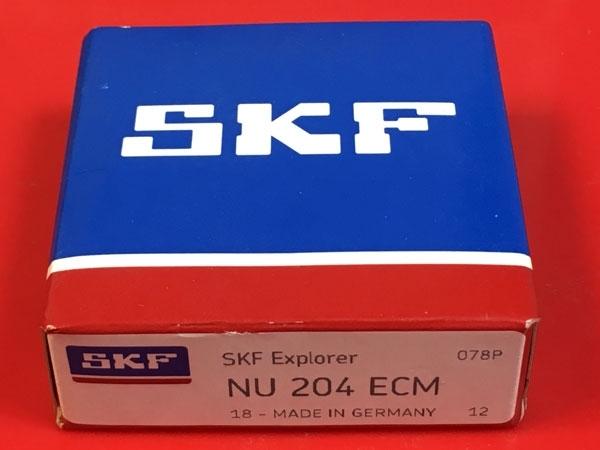 Подшипник NU204 ECM SKF аналог 32204 Л размеры 20*47*14