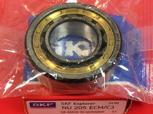 Подшипник NU205 ECM/C3 SKF аналог 32205 Л размеры 25x52x15