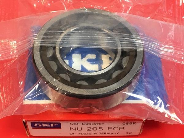Подшипник NU205 ECP SKF аналог 32205 размеры 25*52*15
