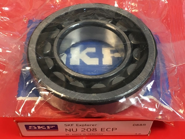 Подшипник NU208 ECP SKF аналог 32208 размеры 40*80*18