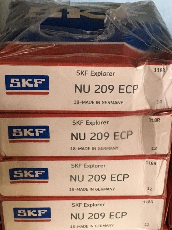 Подшипник NU209 ECP SKF аналог 32209 размеры 45х85х19