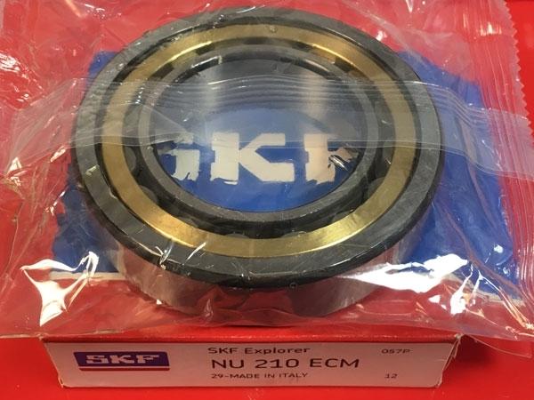 Подшипник NU210 ECM SKF аналог 32210 Л размеры 50*90*20