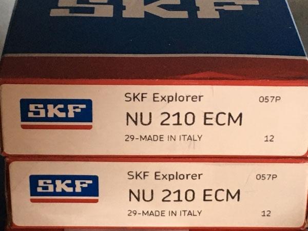 Подшипник NU210 ECM SKF аналог 32210 Л размеры 50х90х20