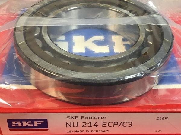 Подшипник NU214 ECP/C3 SKF аналог 32214 размеры 70*125*24