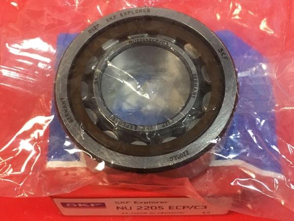 Подшипник NU2205 ECP/C3 SKF аналог 32505 размеры 25x52x18