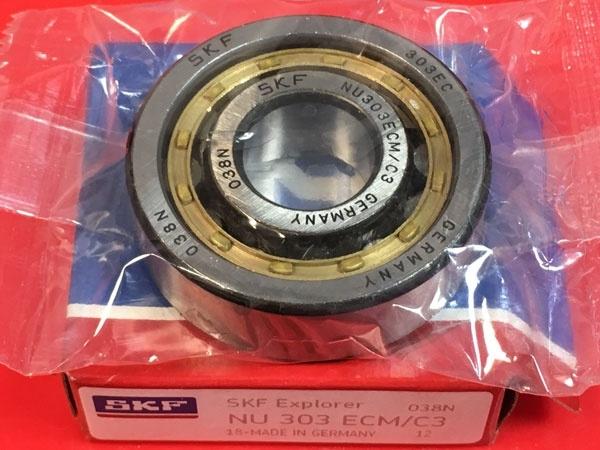 Подшипник NU303 ECM/C3 SKF аналог 32303 Л размеры 17x47x14