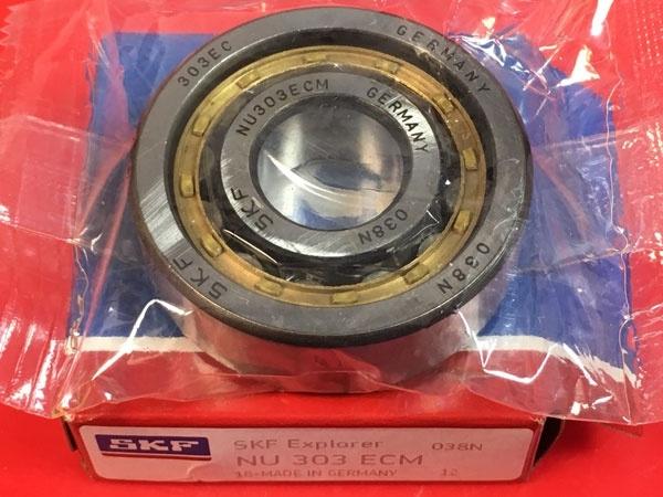 Подшипник NU303 ECM SKF аналог 32303 Л размеры 17x47x14