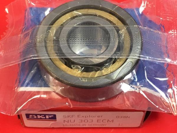 Подшипник NU303 ECM SKF аналог 32303 Л размеры 17*47*14