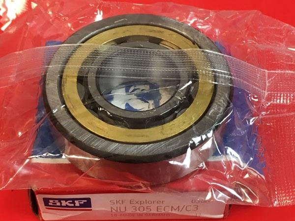 Подшипник NU305 ECM/C3 SKF аналог 32305 Л размеры 25*62*17