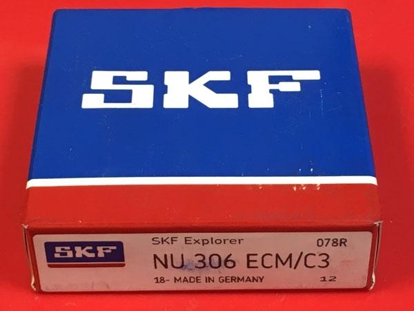 Подшипник NU306 ECM/C3 SKF аналог 32306 Л размеры 30*72*19