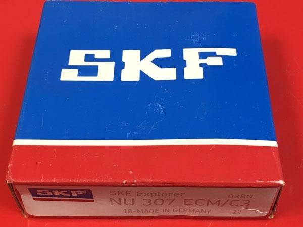 Подшипник NU307 ЕCM/C3 SKF аналог 32307 Л размеры 35х80х21