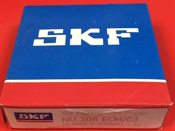 Подшипник NU308 ECM/C3 SKF аналог 32308 Л размеры 40*90*23