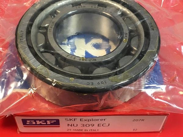 Подшипник NU309 ECJ SKF аналог 32309 размеры 45x100x25