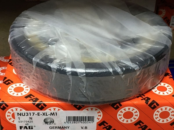 Подшипник NU317 E-XL-M1 FAG аналог 32317 Л размеры 85х180х41