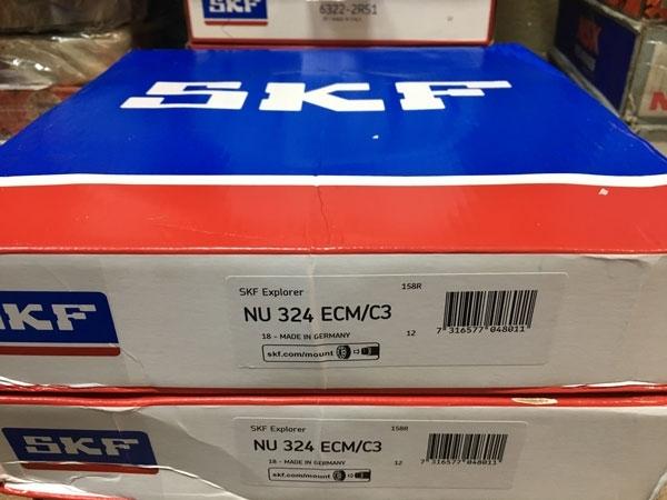 Подшипник NU324 ECM/C3 SKF аналог 32324 Л размеры 120*260*55