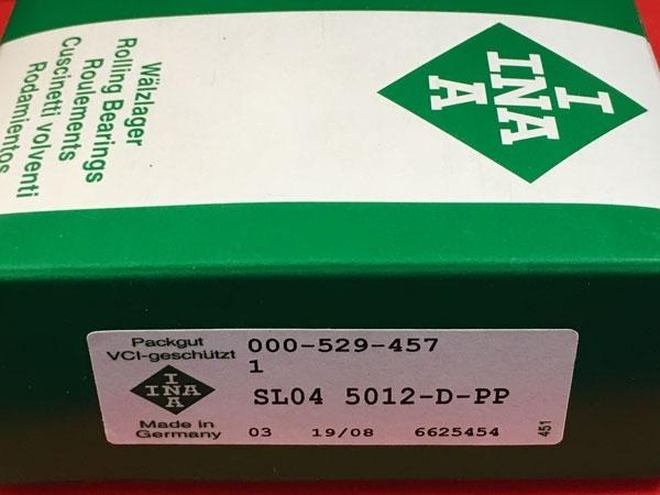Подшипник SL04 5012-D-PP INA размеры 60х90х46